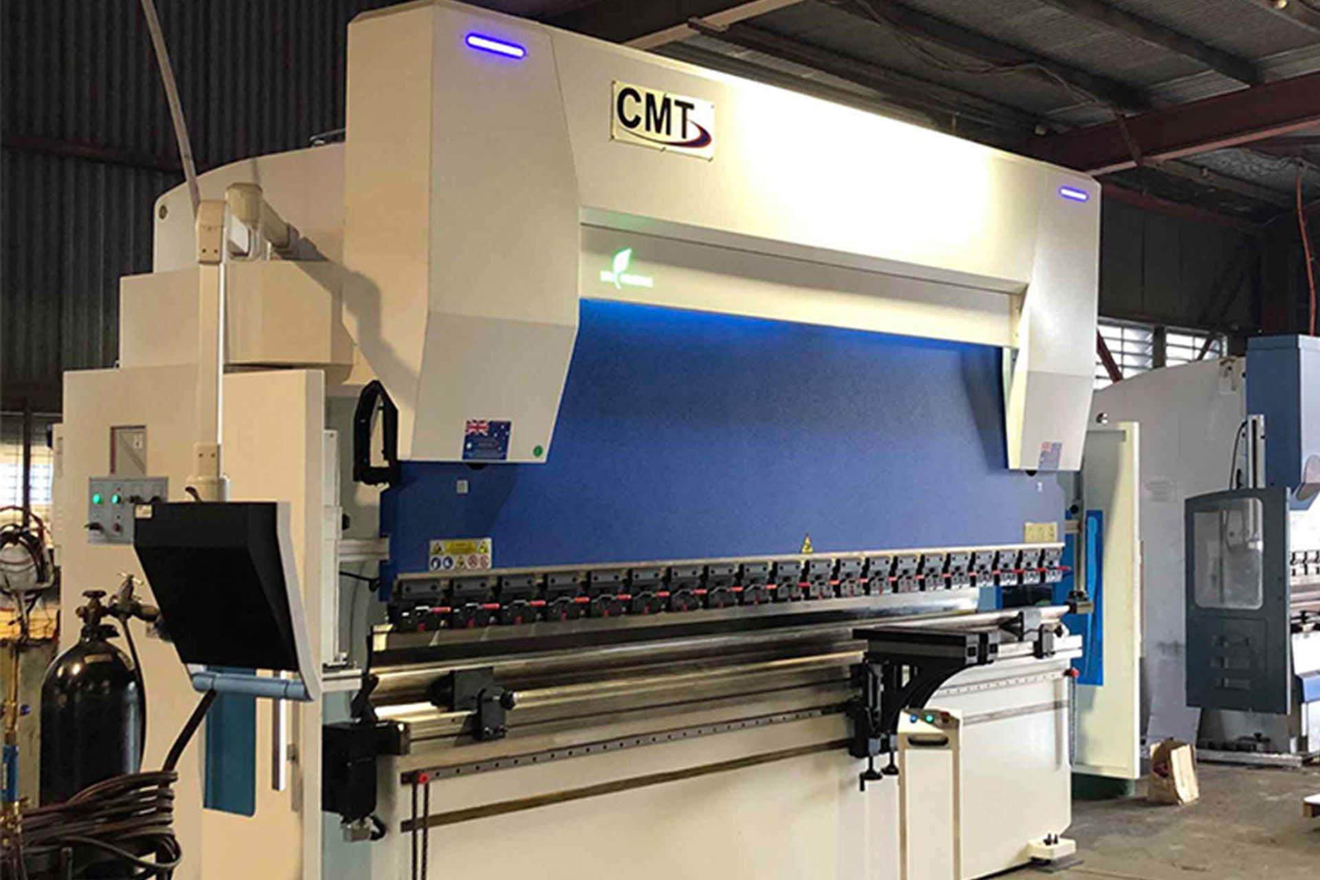 AccurlCMT 320 ton x 4m CNC press Brake installation