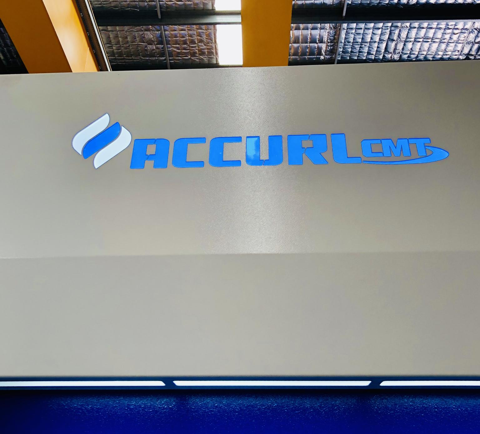 New AccurlCMT branding